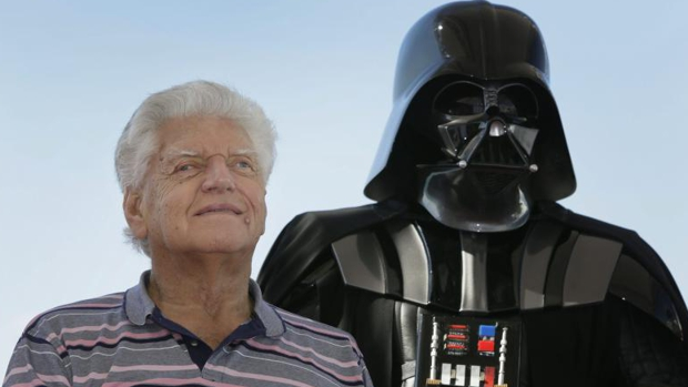 George Lucas y Mark Hamill despiden a David Prowse