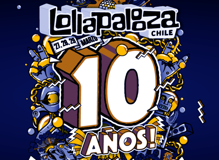 Estos son los Sideshows de Lollapalooza Chile 2020