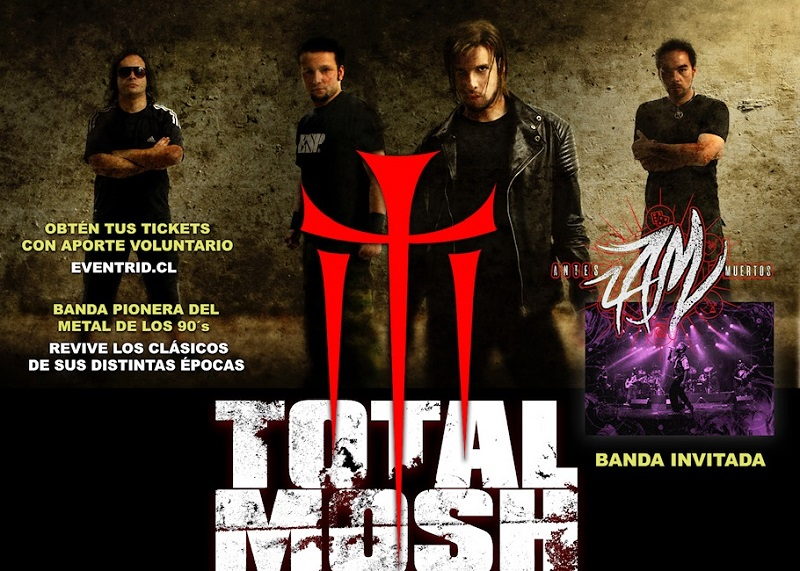 Total Mosh y Antesmuertos anuncian show en streaming