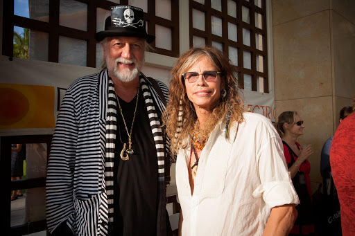 Mick Fleetwood celebra a Peter Green con Steven Tyler y Billy Gibbons