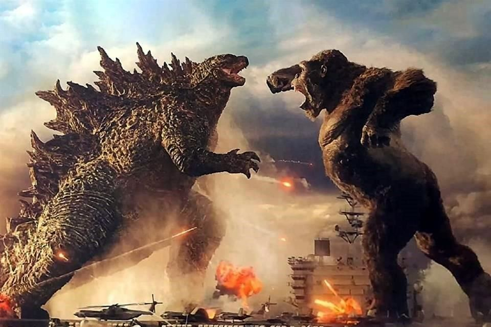 Monstruos legendarios: estrenan trailer de ''Godzilla vs. Kong''