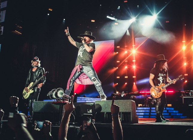 Guns N' Roses comparte sus archivos del ''Not In This Lifetime Tour''