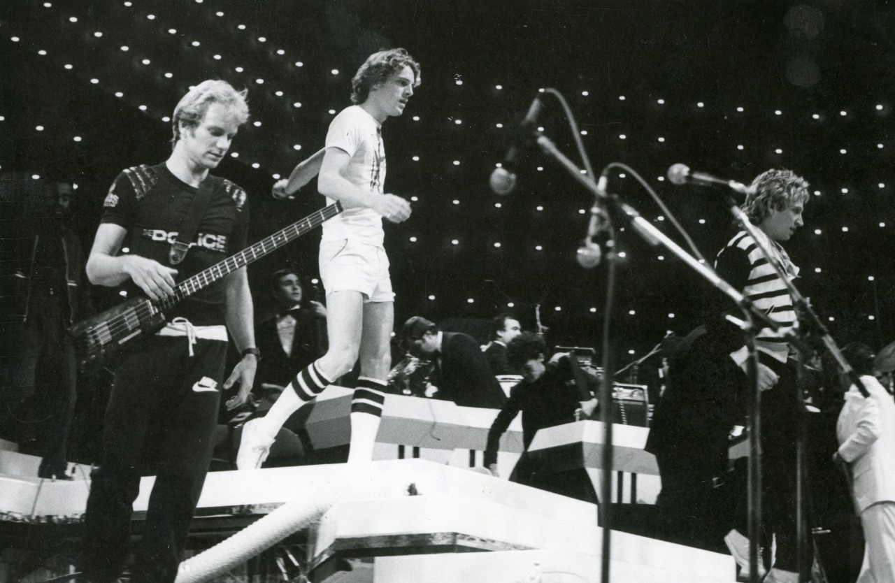 Video: recordando el debut de The Police en Chile
