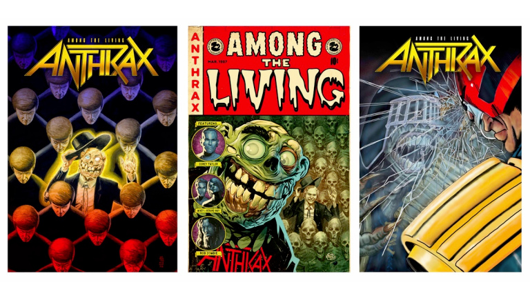 Anthrax lanzará una novela gráfica inspirada en ''Among the Living''
