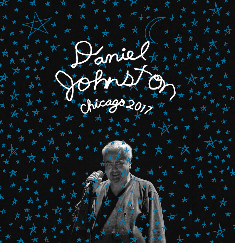 Preparan un álbum en vivo de Daniel Johnston